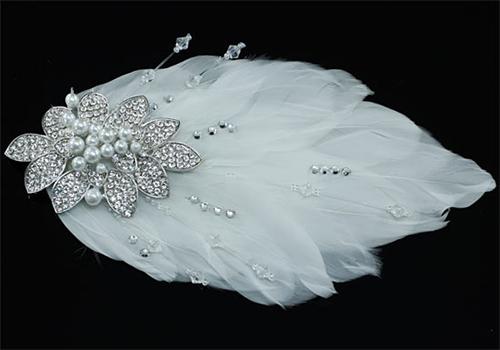 Гребни для прически невесты